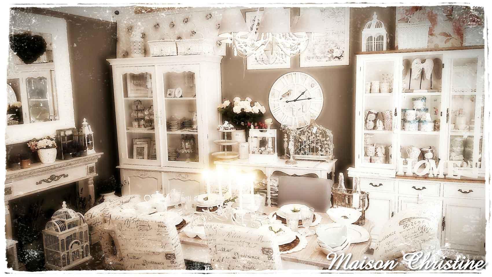 Arredamento shabby chic monza maison christine for Maison arredamento