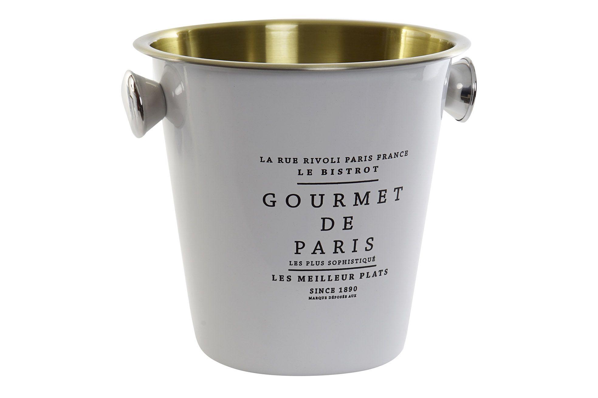 Porta champagne acciaio oro bianco art PC-159723 22x24x22h €19,90
