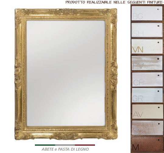 Specchio L'Arte di Nacchi art SP-479 74x7x93h €485