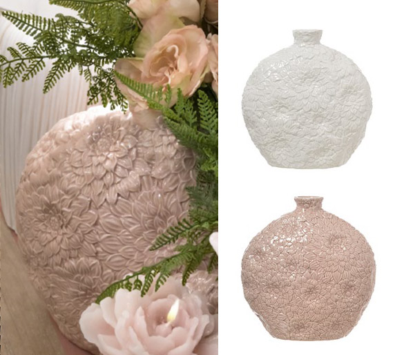 Vaso Ceramica L'Arte di Nacchi art TN-07-8 29x10x30h €69