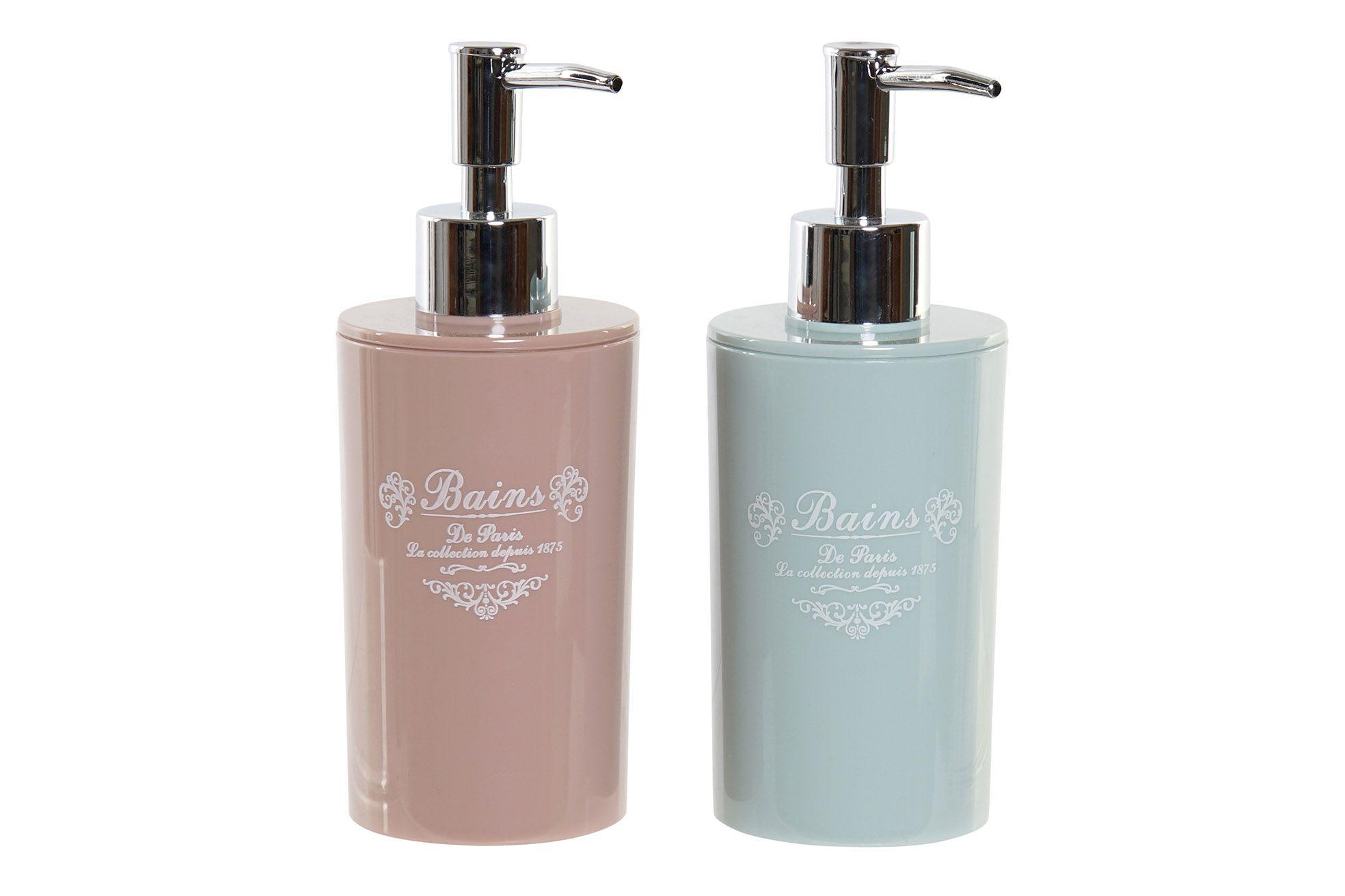 Dispenser sapone liquido acrilico 2 colori art LB-173098 diam7x19h €7