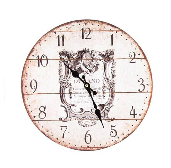 Orologio MDF art RE-124624B diam34cm €12
