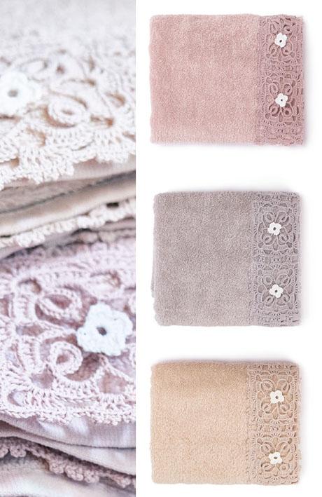 Coppia asciugamani Nuvole di stoffa 3 colori art MHE21002 40×60+60x100cm €35