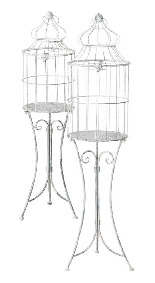 Gabbia decorativa ferro art 122000871B diam30x100h €59