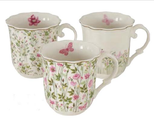 Mug porcellana 3 mod art 122006650 350ml €9,90