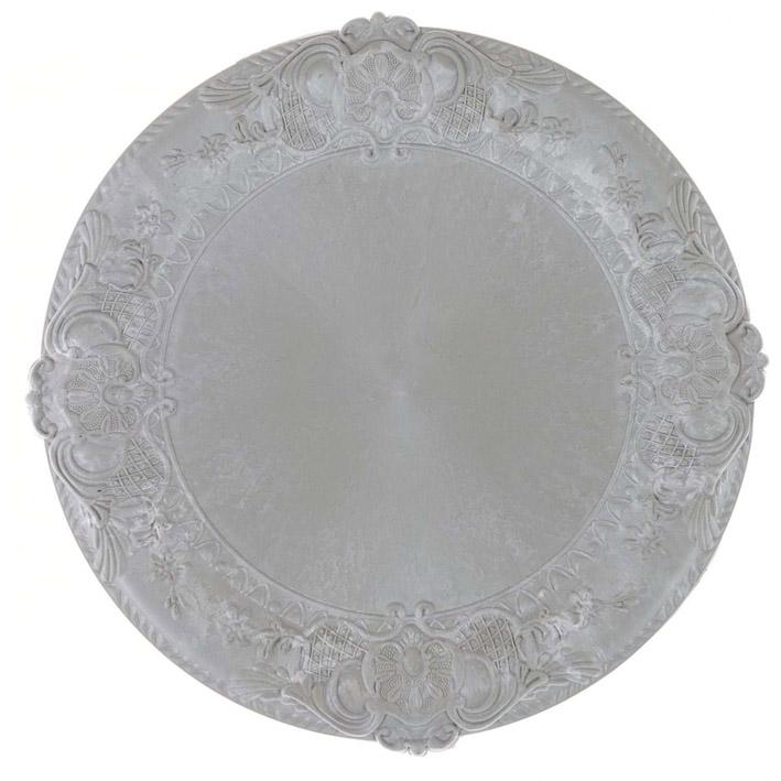 Sottopiatto acrilico Blanc Mariclò art A29354 diam38cm €6