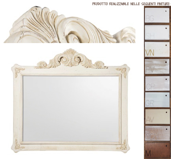 Specchio L'Arte di Nacchi art SP-180 120x8x103h €379,00