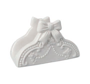 Portatovaglioli ceramica Coccole di Casa art JM10240 12x5x7h €8